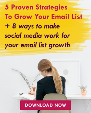 13 Strategies For Growing Your Email List